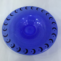 Fused and Slumped Glass Bowl