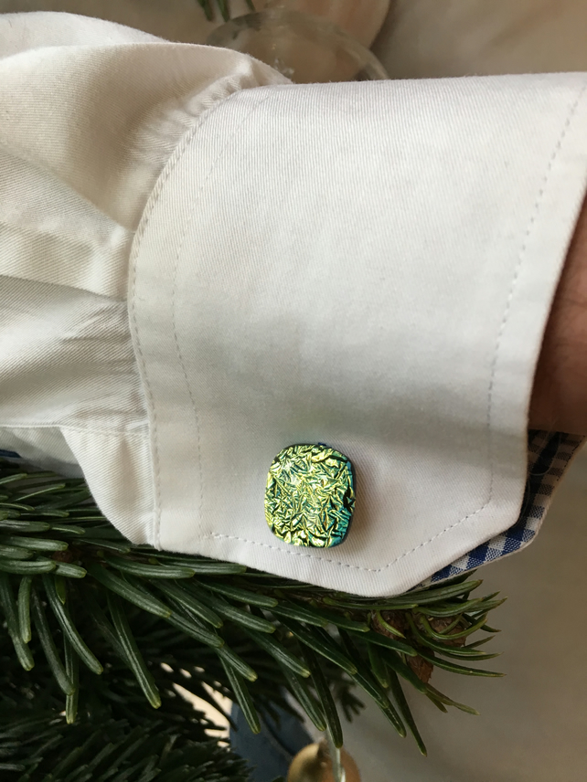Green Ice Cufflinks