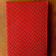 A5 shweshwe notebook cover, with notebook