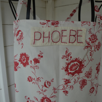 Add on. Personalised patch for any of The Sewing Nook UK aprons. Add a name.
