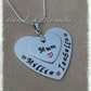 Hand Stamped Mothers Day Pendant