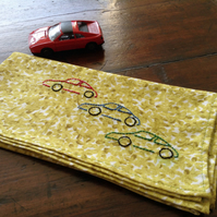 Sports Car Handkerchief