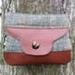 Handcrafted Harris Tweed and Leather Shoulder Bag