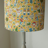 Liberty Tana Lawn- Gally Moggers Handmade Childrens Lampshade 25cm ceiling Drum