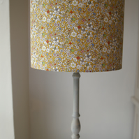 Liberty Tana Lawn- Junes Meadow Voile silk  Handmade Lampshade 30cm Drum