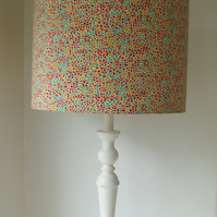 Liberty Tana Lawn- Love Day Handmade Lampshade 40cm Drum floor stand.