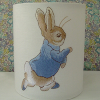 Beatrix Potter - Peter Rabbit Embroidered Nursery Night Light