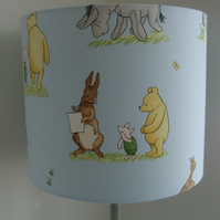 Winnie The Pooh And Friends - Handmade Nursery Ceiling Lampshade 30cm Drum