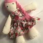 Beautiful handmade, original,16 inch cloth doll, rag doll, girls, gift, soft toy