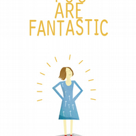 You Are Fantastic Female Card