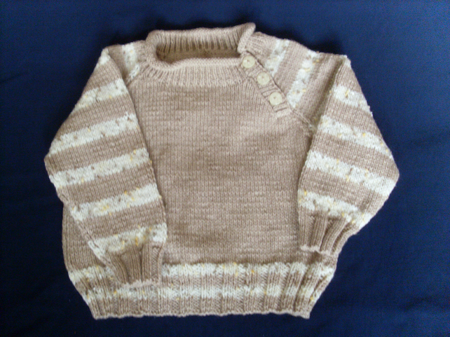 "22"" Boys Jumper with button detail"
