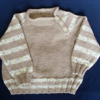 "REDUCED 22"" Boys Jumper with button detail"