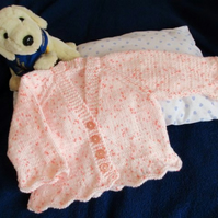 "16"" Baby Girls V Neck Cardigan"