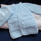 "14"" Newborn Baby Boys Jacket & Hat Set"