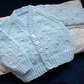 "16"" Baby Boys V Neck Knots Patterned Cardigan"