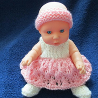 "8"" Dressed Baby Ballet Doll"