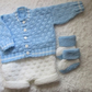 "16"" Baby Boys Outfit"
