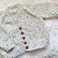 "18"" Boys V Neck Cardigan"