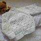 "16"" Baby Boys Knots Patterned Cardigan"