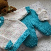 "15-18"" Dolls Trousers Jumper & Socks"