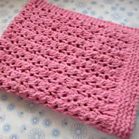 Lace Patterned Baby Blanket