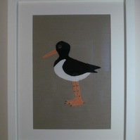 Oystercatcher Applique Picture