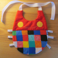 Fun Red Bug Bib
