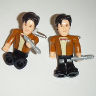 Dr Who Mini Figure Cufflinks - Matt Smith 11th Doctor
