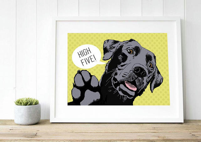 Black Labrador Christmas gift idea