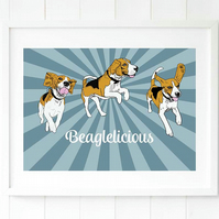 Beagle gift for her