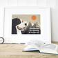 Bernese Mountain dog gift for him, A3 Bernese art print, Bernese gift for her