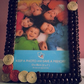 Handmade real Coffee beans Photo Frame