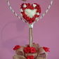 Handmade Topiary- Valentine's Day! Tree of Happiness, European wood, exclusive g