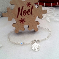 TREE OF LIFE BRACELET WITH A LITTLE SPARKLE