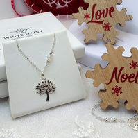 Tree of Life pendant and earring set.