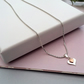 Understated Elegant Style, Sterling Silver and Rose Gold Pendant FREE POSTAGE
