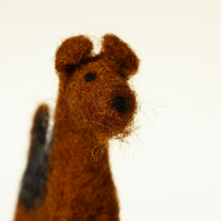 Airedale Terrier - Needle Felt Miniature