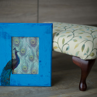 Hand painted & decorated picture frame