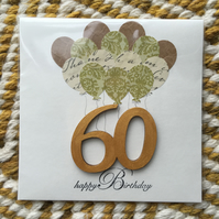 Birthday card 60