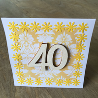 Birthday Card 40