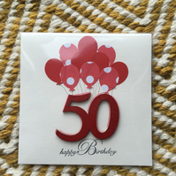 Birthday Card 50