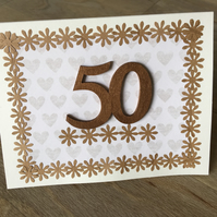 Birthday Cad 50