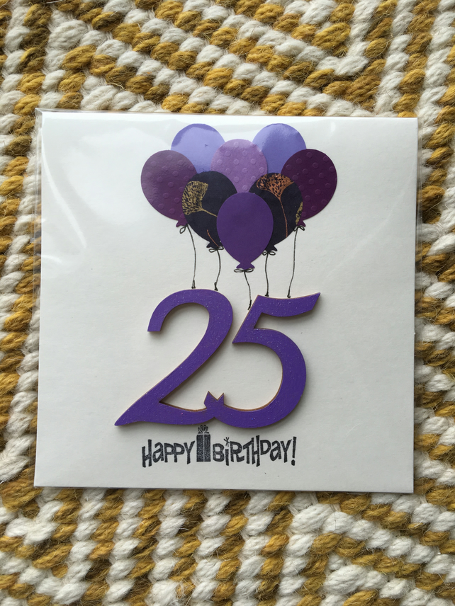 Birthday Card 25