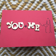 Valentine's Card - You Me