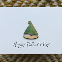 Father's Day Card - Boat