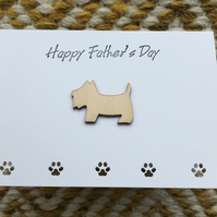 Father's Day Card - Dog