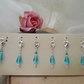 Crochet Stitch Markers - set of 6