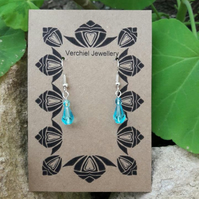 Turquoise Dangle Earrings -REDUCED