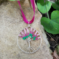Wire wrapped Tree of Life - REDUCED