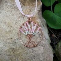 Wire wrapped Copper Tree of Life -REDUCED